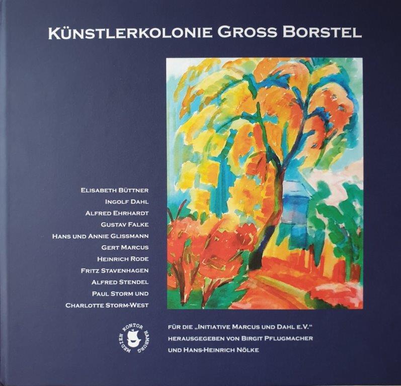 Einband Buch Künstlerkolonie Groß Borstel
