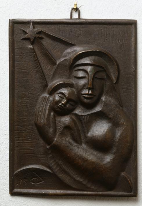 Bild von Madonna mit Kind